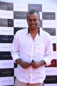Gautham Menon @ Harris Jayaraj's Studio H Launch Photos