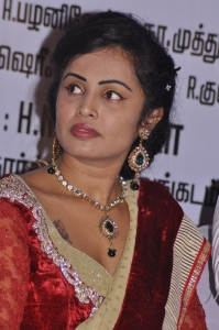 Actress Hashika Dutt Hot Pics in Red Saree