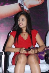 Hasika Hot Pics in Red Dress