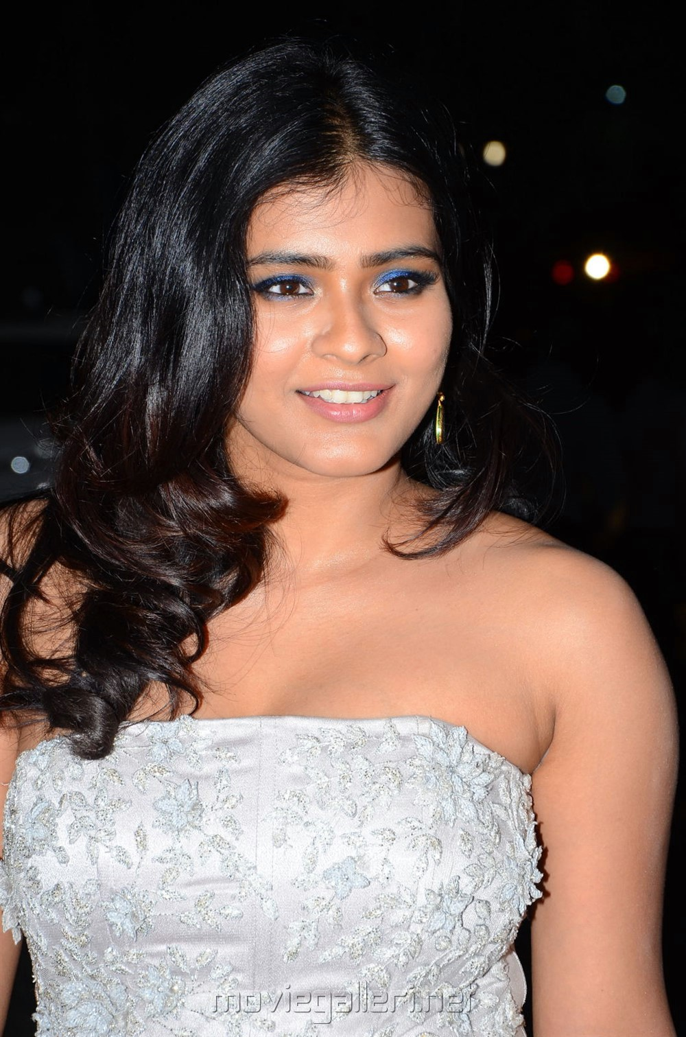 Actress Hebah Patel Hot Latest Pics @ 65th Jio Filmfare Awards (South) 2018