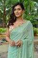 Actress Hebah Patel in Saree New Photos