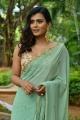 Actress Heebah Patel New Saree Photos