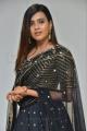 Actress Hebah Patel Black Dress Pics @ 24 Kisses Audio Launch
