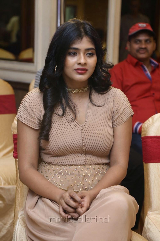 Actress Heebah Patel Hot Pics @ Santosham Awards 2017 Curtain Raiser Press Meet