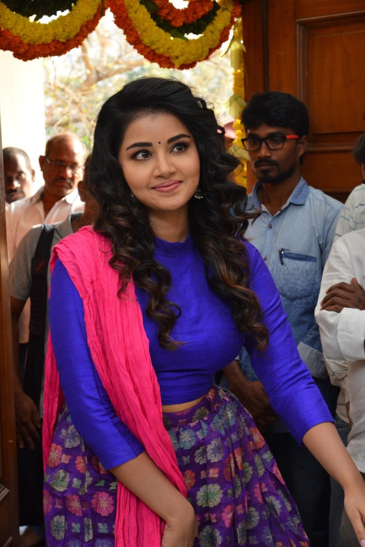 Anupama Parameswaran @ Hello Guru Prema Kosame Movie Opening Stills