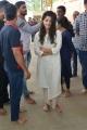 Actress Anupama Parameswaran @ Hello Guru Prema Kosame Team @ Vijayawada Kanaka Durga Temple