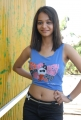 Actress Henna Hot Stills at Music Magic Press Meet