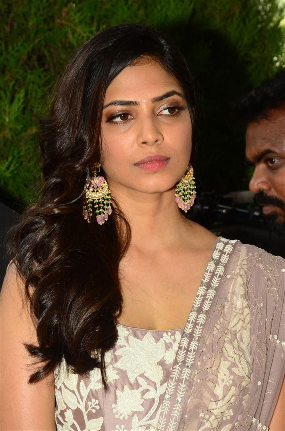 Actress Malavika Mohanan @ Hero Movie Opening Stills