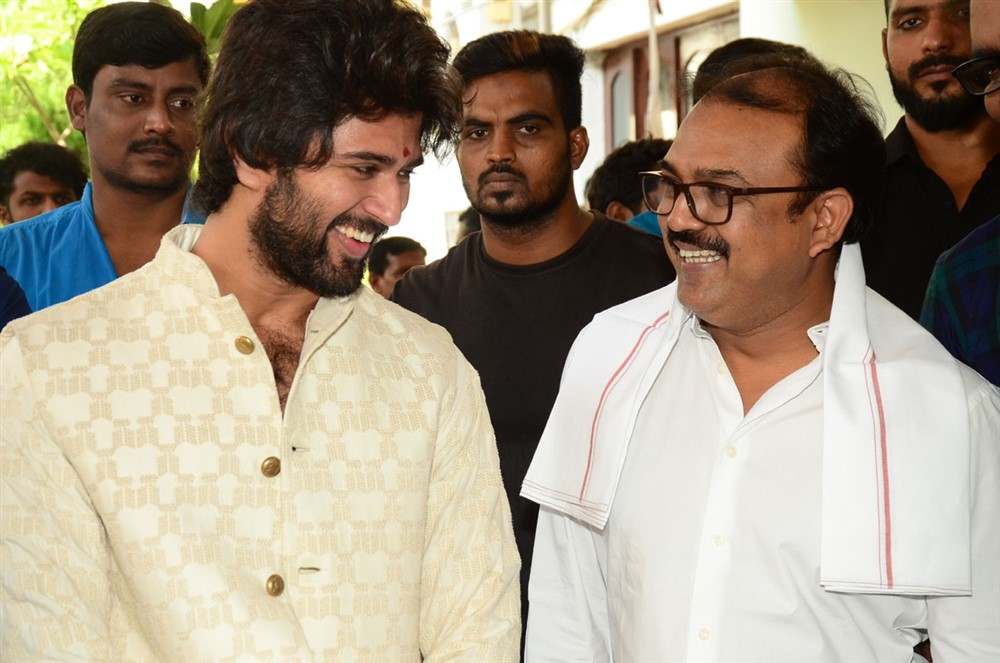Vijay Devarakonda, Koratala Siva @ Hero Movie Opening Stills