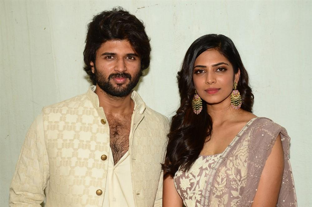 Vijay Devarakonda, Malavika Mohanan @ Hero Movie Opening Stills