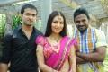 Bhaskar, Anusmriti Sarkar, Vivek at Heroine Telugu Movie Opening Stills