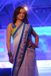 Sonia Agarwal Ramp Walk at SouthSpin Fashion Awards 2012 Stills