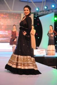 Actress Charmi Ramp Walk at SouthSpin Fashion Awards 2012 Stills