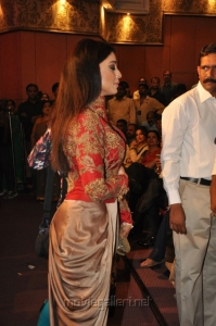 Heroine Shriya Saran @ TSR TV9 National Film Awards for 2013-2014 Function Photos