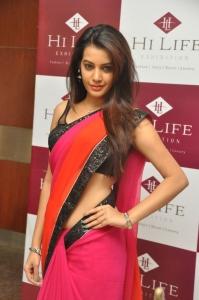 Actress Diksha Panth @ Hi Life Luxury Exhibition 2014 at Novotel, Hyderabad