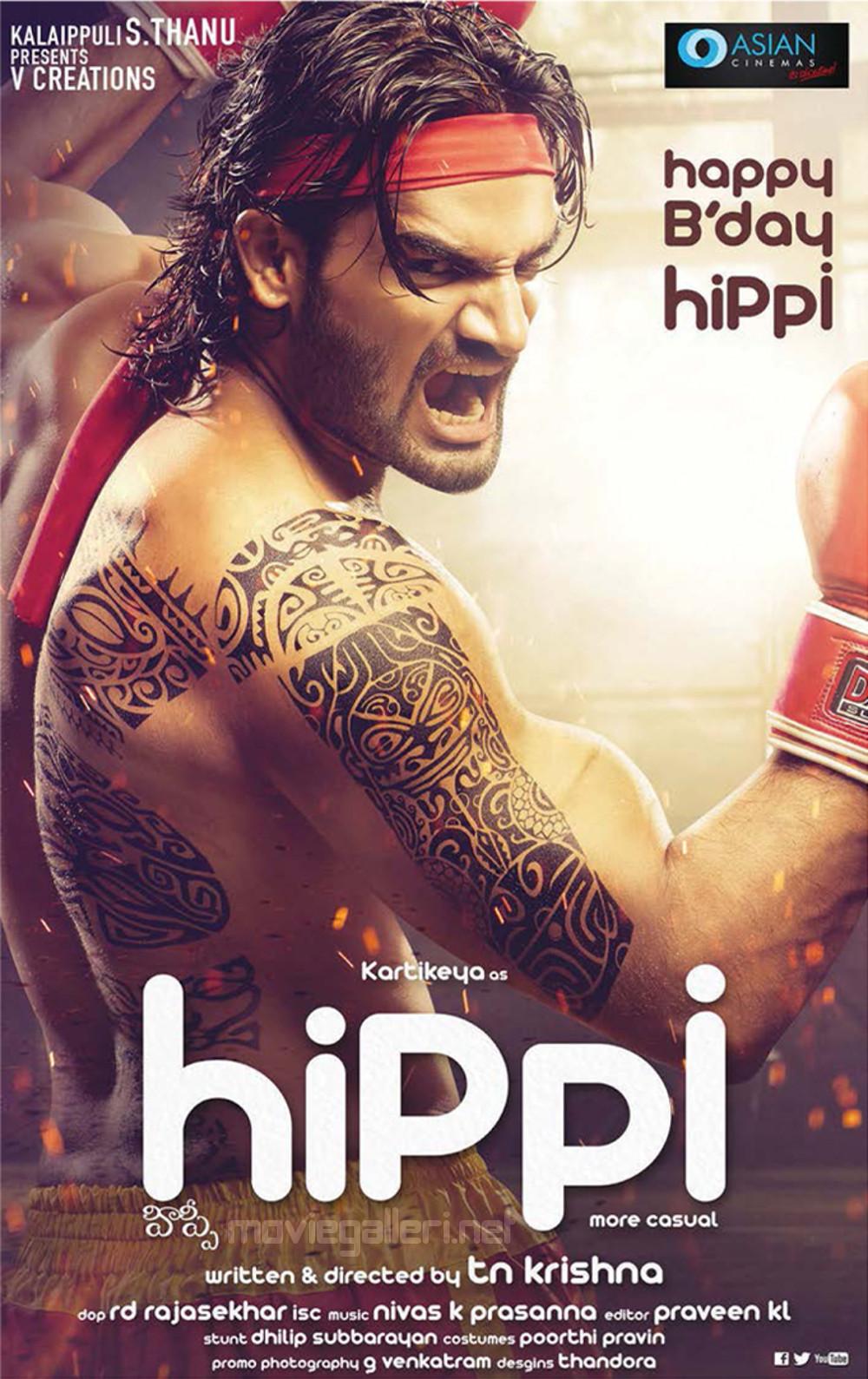 Karthikeya Hippi Movie First Look Posters