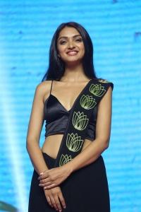 Actress Jazba Singh @ Hippi Movie Pre Release Event Stills