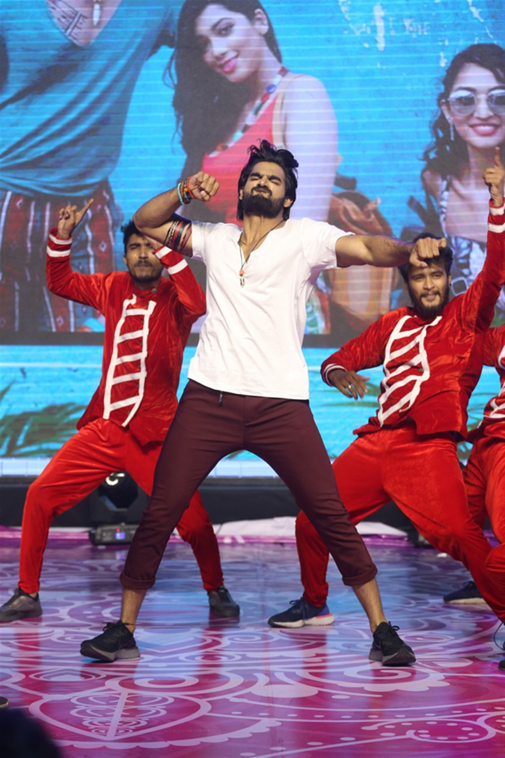 Actor Karthikeya Dance @ Hippi Movie Pre Release Event Stills