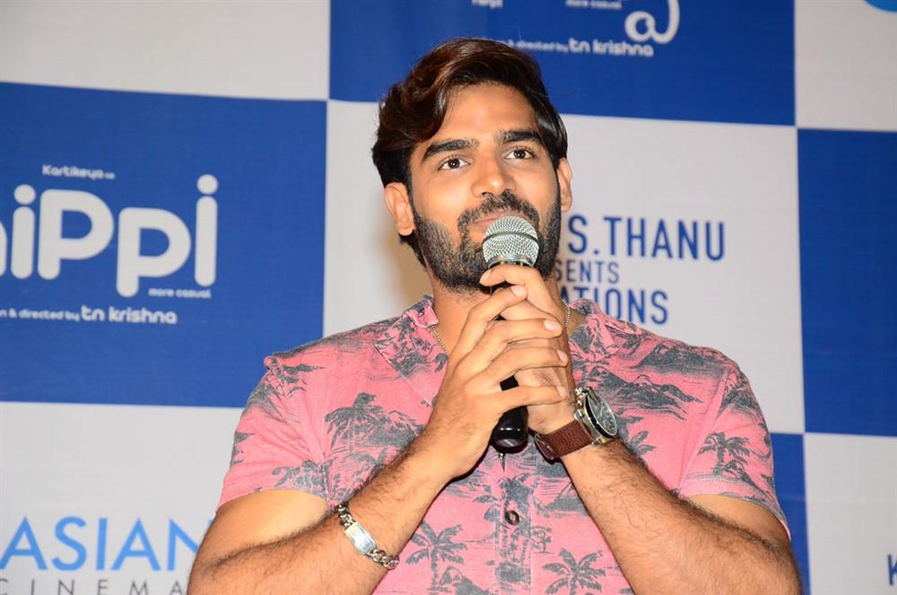 Kartikeya Gummakonda @ Hippi Movie Press Meet Stills