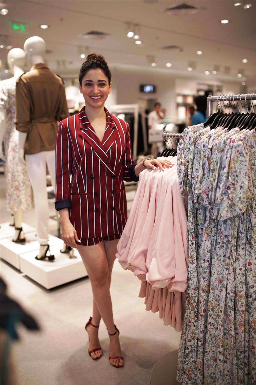 Tamannaah @ H&M Hyderabad Grand Opening at Inorbit Mall