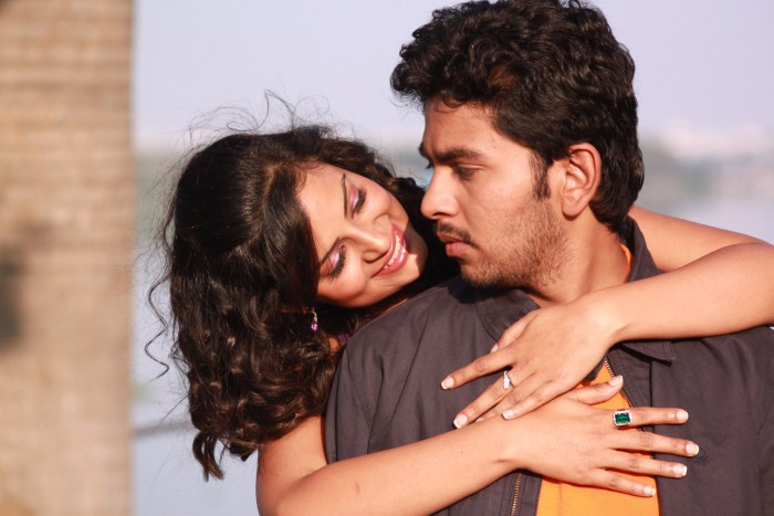 Shyam, Anuhya Reddy @ Hormones Movie Stills