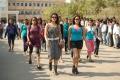 Diksha Panth, Amrutha, Anuhya Reddy in Hormones Telugu Movie Stills