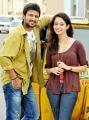 Raja, Ghazal Chand Thakur at Hostel Days Telugu Movie Launch Stills