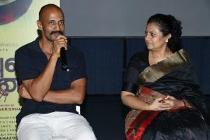 Kishore, Lakshmy Ramakrishnan  @ House Owner Movie Press Meet Stills