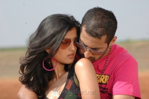 Vega Tamotia, Vipin in Housefull Telugu Movie Stills