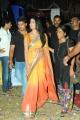 Shriya Saran Dual Color Saree Images @ Pavitra Audio Launch