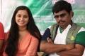 Ishika Singh, Sampoornesh Babu @ Hrudaya Kaleyam Movie Press Meet Stills