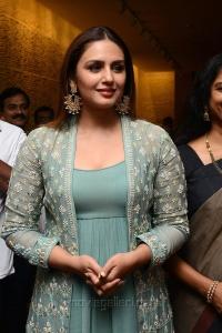 Actress Huma Qureshi Hot Photos @ Kaala Movie Press Meet