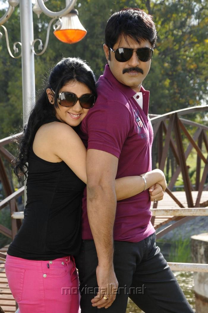 Kamna Jethmalani, Srikanth in Hunter Telugu Movie Stills