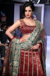 Sonal Chauhan @ Hyderabad International Fashion Week 2013 Day 1 Stills