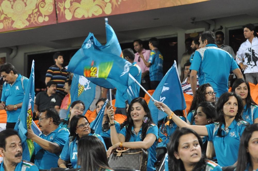 Celebraties at IPL match, Uppal Stadium- Hyderabad