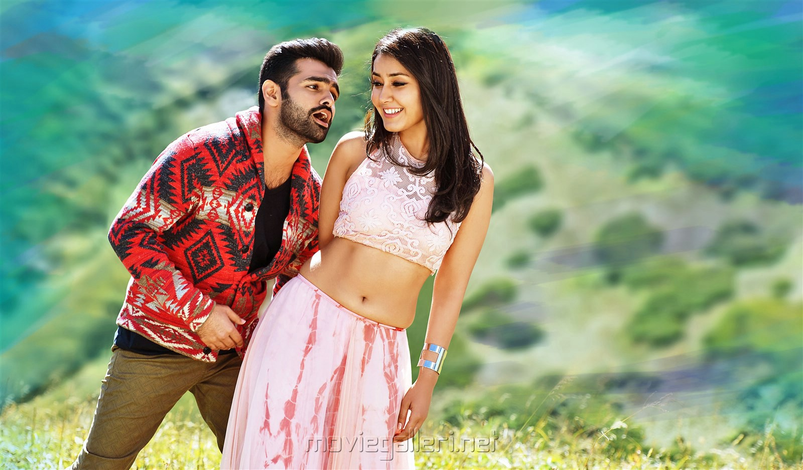Picture 1095377   Ram Pothineni, Raashi Khanna in Hyper Movie Photos HD   New Movie Posters