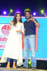 Sonu Gowda, Upendra @ I Love You Movie Pre Release Event Stills