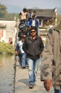 Director Shankar at I Movie China On Location Stills