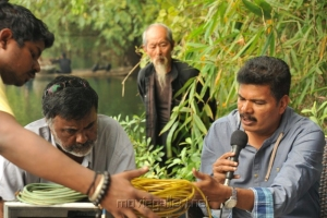 PC Sriram at Shankar's I Movie China On Location Stills