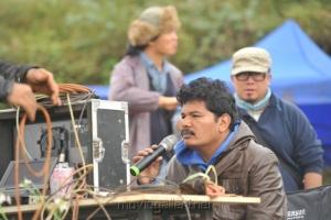 Director Shankar's I Movie in China On Location Stills