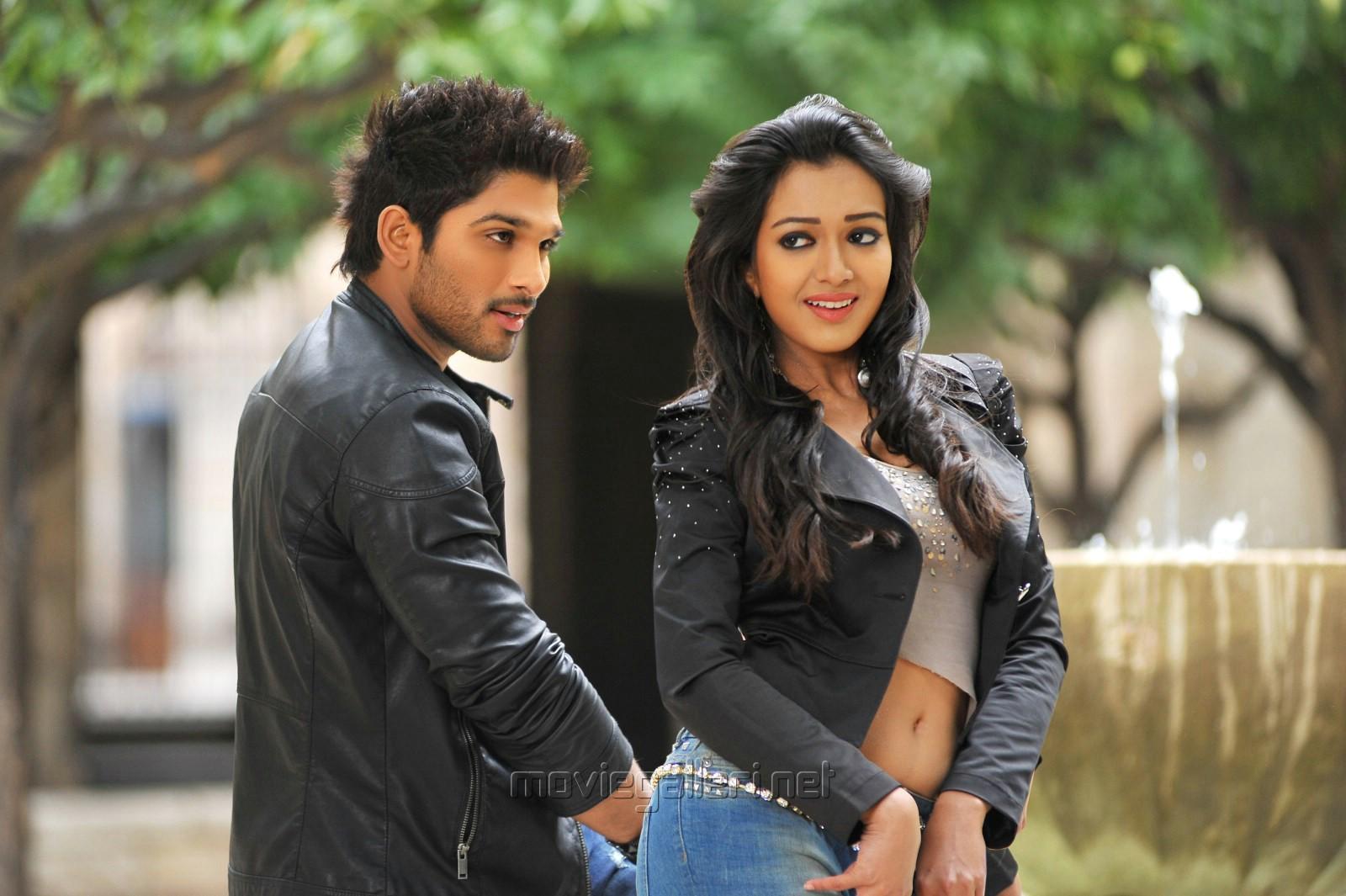 Allu Arjun And Amala Paul In Iddarammayilatho Latest Stills Allu Arjun  Catherine Tresa in