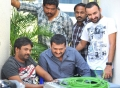 Puri Jagannath, Bandla Ganesh at Iddarammayilatho Working Stills