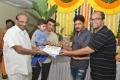 KV Vijayendra Prasad, Dil Raju, GR Krishna, Abburi Ravi @ Iddari Lokam Okate Movie Pooja Stills