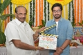 KV Vijayendra Prasad, Raj Tarun @ Iddari Lokam Okate Movie Pooja Stills
