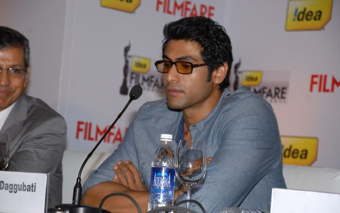 Rana Daggubati at 59th Idea Filmfare Awards South 2012 Press Meet