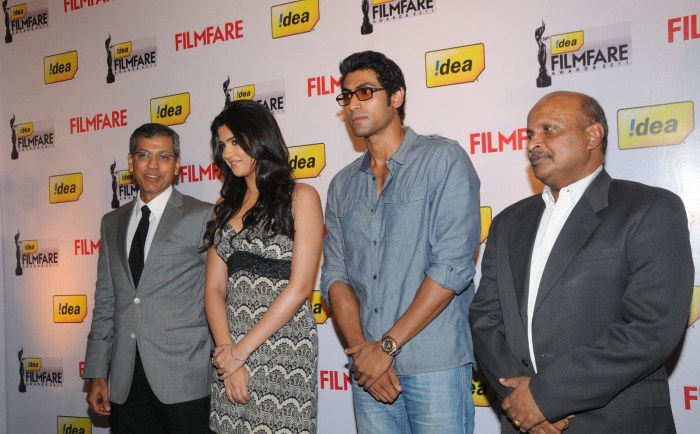 Rana & Deeksha Seth at 59th Idea Filmfare Awards South 2012 Press Meet
