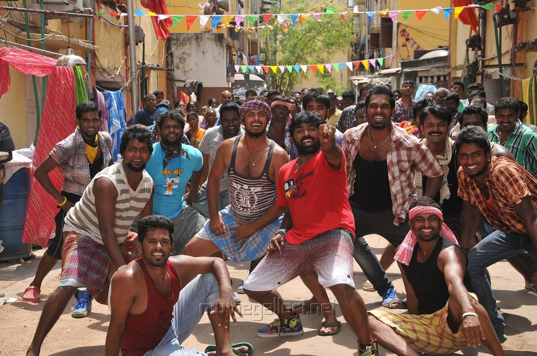vijay sethupathi nandita in idharkuthane aasaipattai balakumara movie