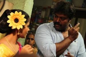 Madhumitha, Gokul @ Idharkuthane Aasaipattai Balakumara Shooting Spot Photos