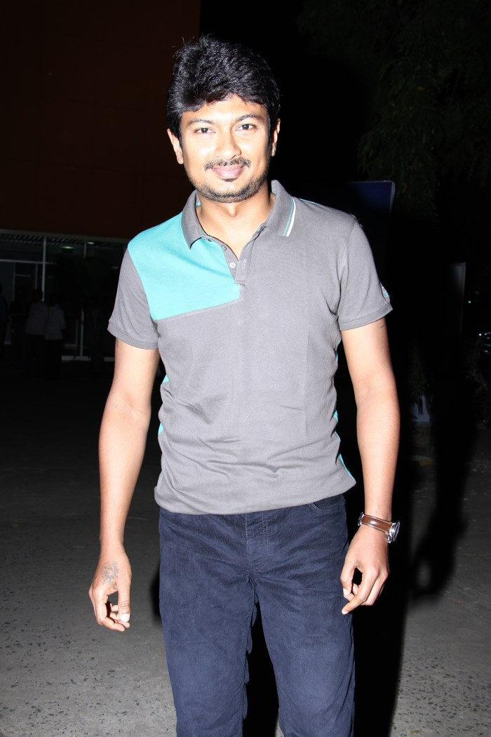 Udhayanidhi Stalin @ Idhu Kathirvelan Kadhal Movie Press Meet Stills