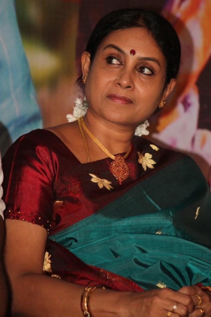 Saranya Ponvannan @ Idhu Kathirvelan Kadhal Movie Press Meet Stills